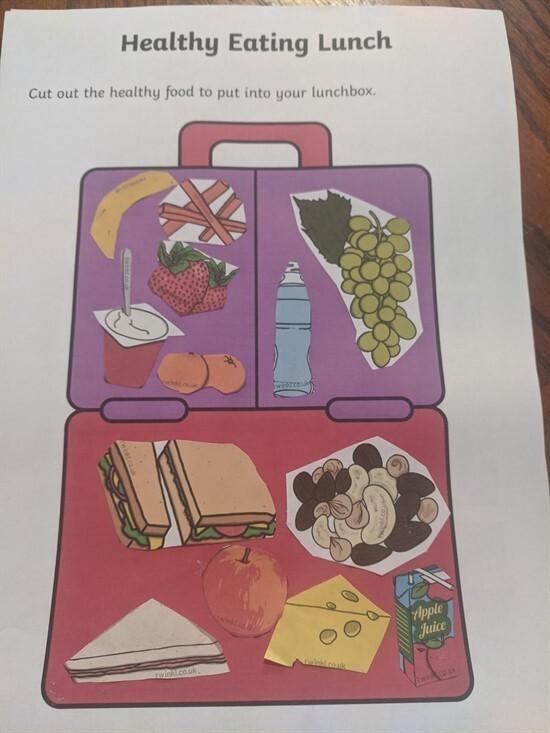 Penelope Baker- Healthy lunch box