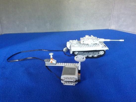 TM Lego tank