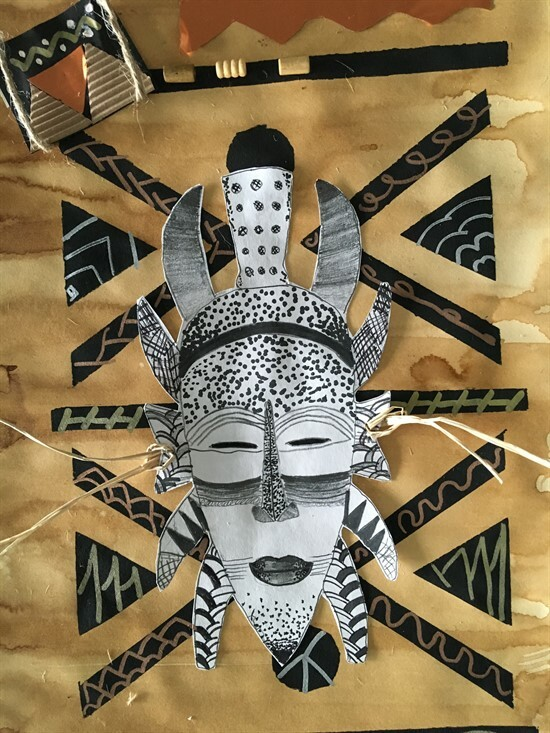 African Mask 5