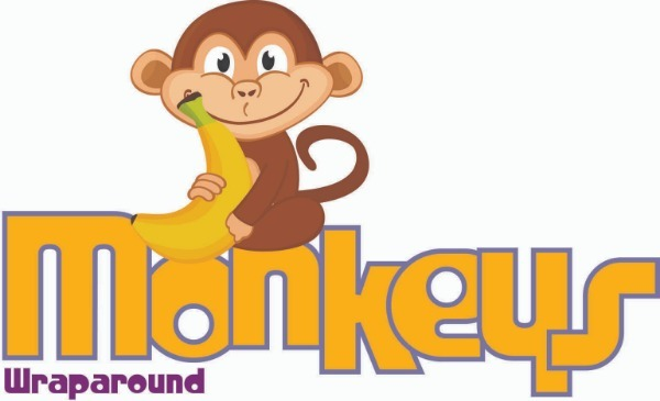 Monkeys wrapround