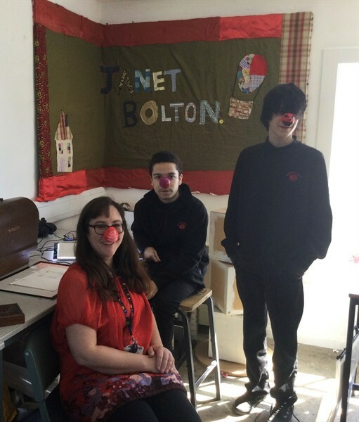 Yr 9 Red Nose Day Pic