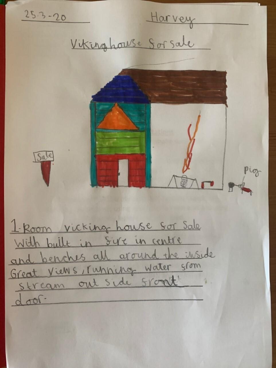 Viking House by Harvey