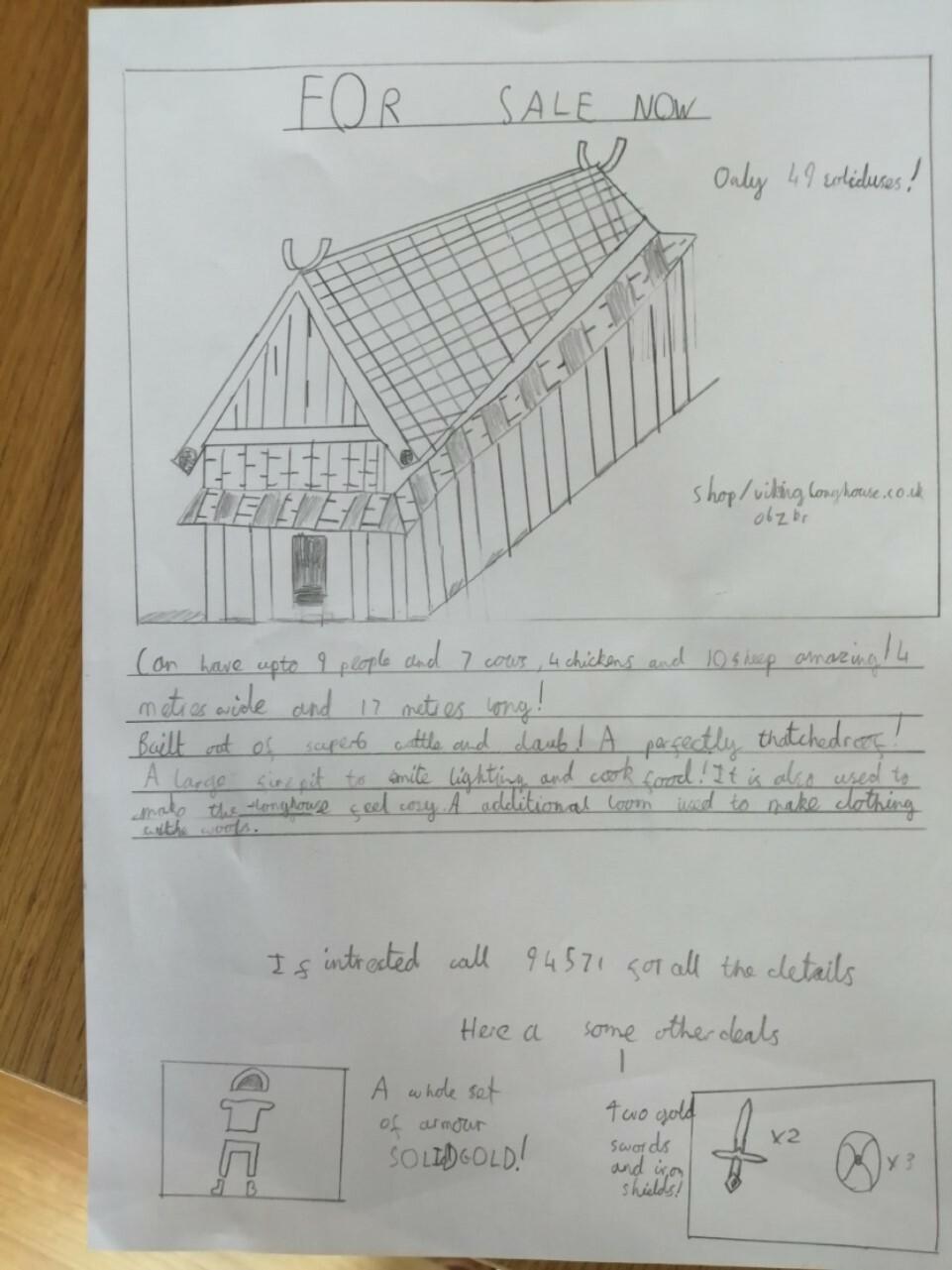 Viking House by Nathan