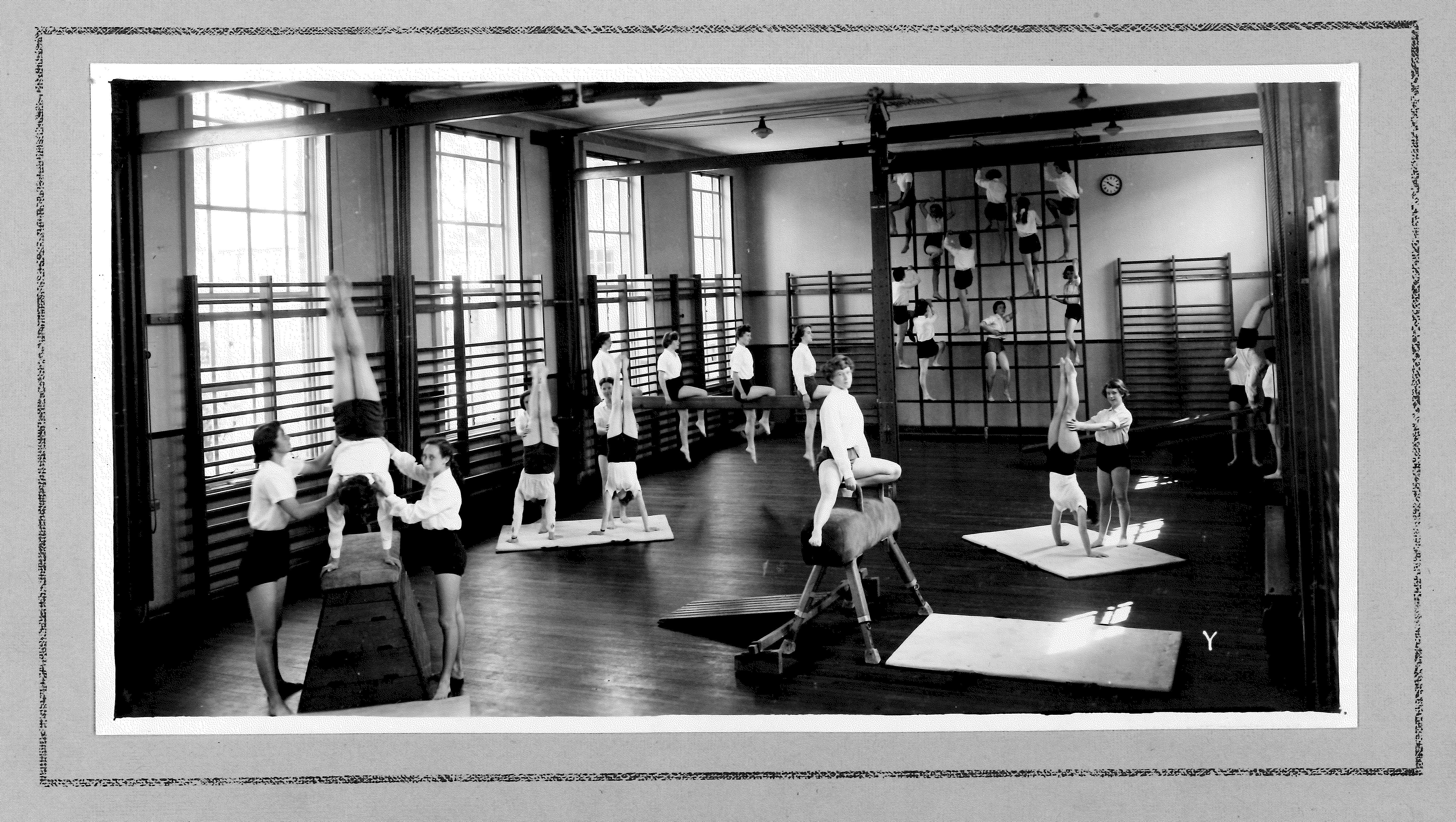 Photo Album 1954 gym