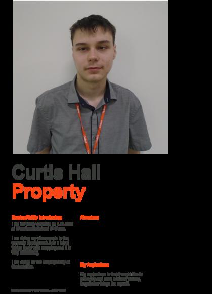 Curtis Hall cadent